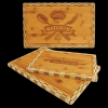 Bamboo Cutting Board with Butcher Block Edge Gifts