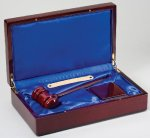 Gavel In Wood Box Gifts