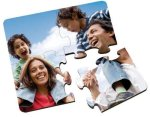 Glossy Square Coaster Puzzle Individual Coasters (1-piece)