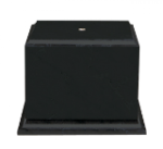 Value Matte Black Finish Cup Wood Base Trophies